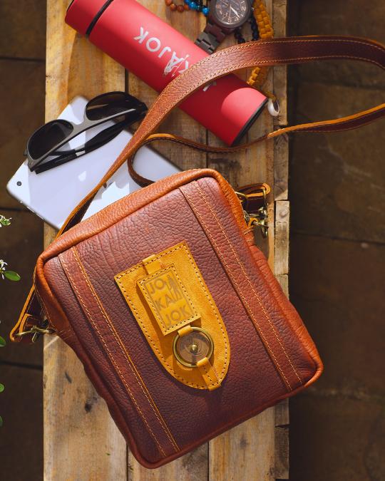 swoyo 2.0 sling bag by Jokajok African Luxury