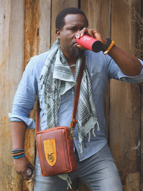 Sling Bag by Jokajok African Luxury